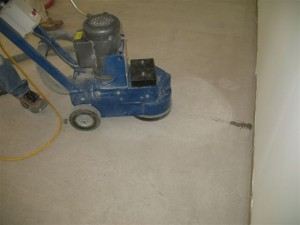 Grinding Concrete Crack Fill