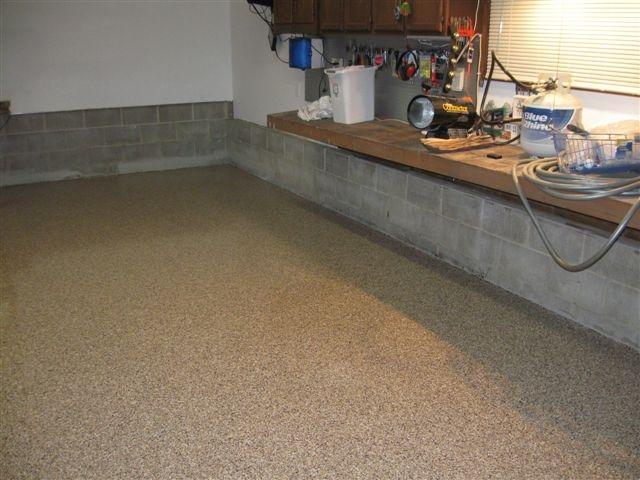 Finished Garage Floor Coating Finished Garage Floor Coating