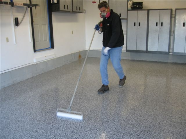 The ultra top coat for garage floor coatings for Best garage floor cleaner
